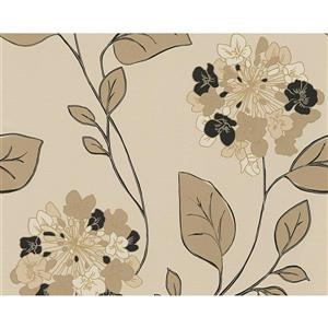 A.S. Creation Hollywood Wallpaper Roll - 21 -in - Beige