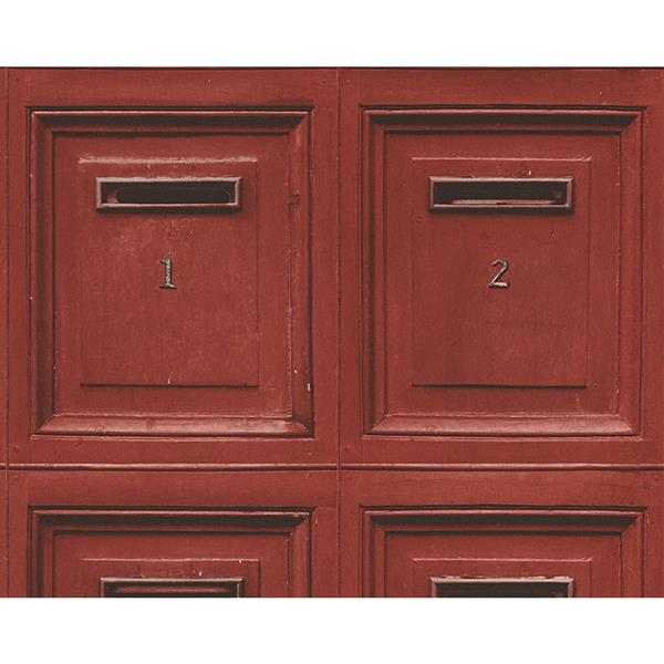 A.S. Creation Deco World 2 Wallpaper Roll - 21-in - Mailbox - Red