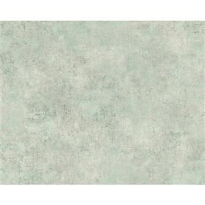A.S. Creation Deco World Wallpaper Roll - 21-in - Faux Finish Pattern - Light Green
