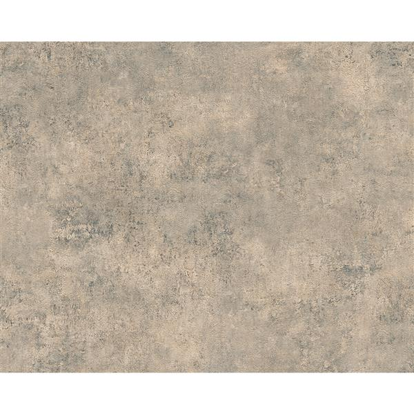 A.S. Creation Deco World Wallpaper Roll - 21-in - Beige and Brown