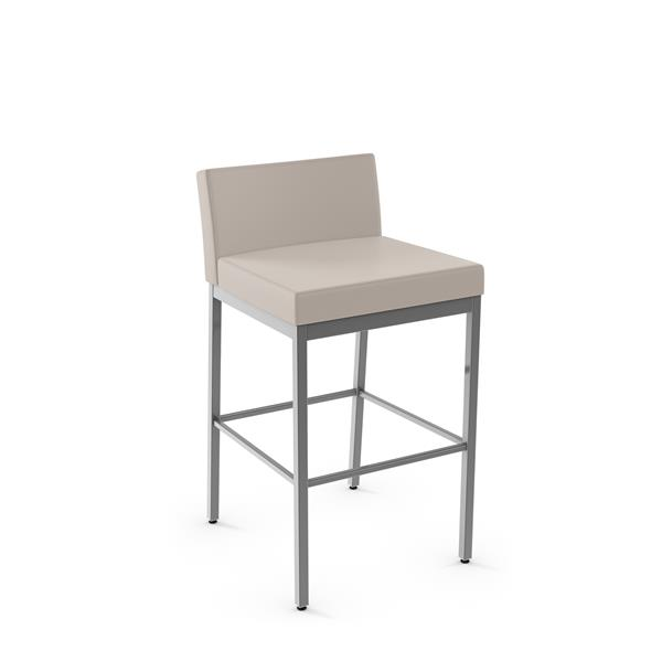 Tabouret non pivotant Fairfield Plus, gris