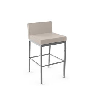 Amisco Fairfield Plus Non Swivel Stool- Grey
