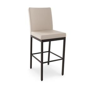 Perry Non Swivel Stool- Brown