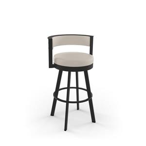Amisco Browser Swivel Stool - Brown