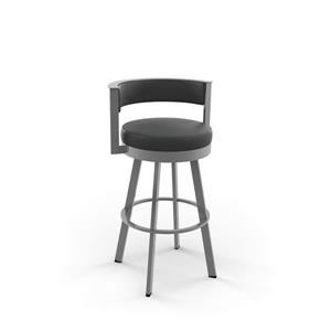 Amisco Browser Swivel Stool - Grey