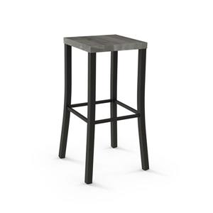 Amisco Ryan Non Swivel Stool - Brown