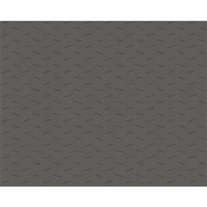 Modern Striped Embossed Wallpaper - Grey