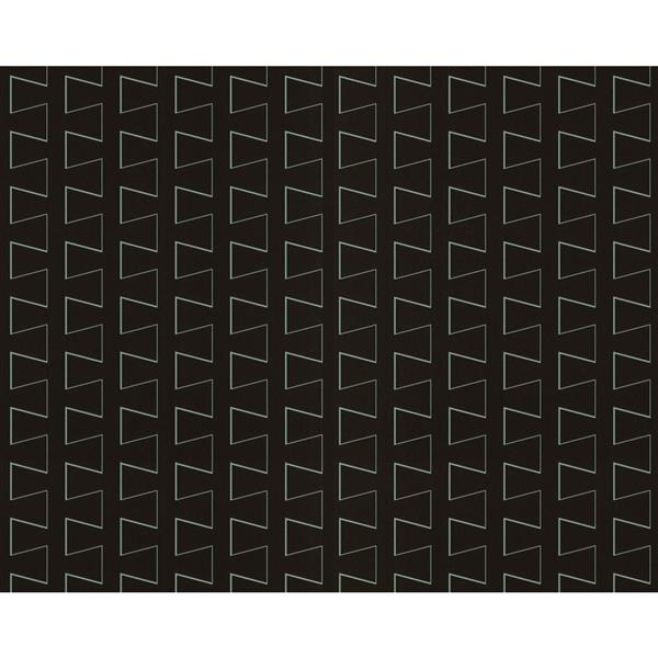 A.S. Creation Modern Striped Embossed Wallpaper - Black