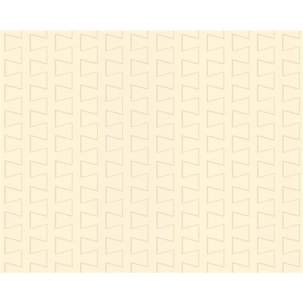 A.S. Creation Modern Striped Embossed Wallpaper - Cream