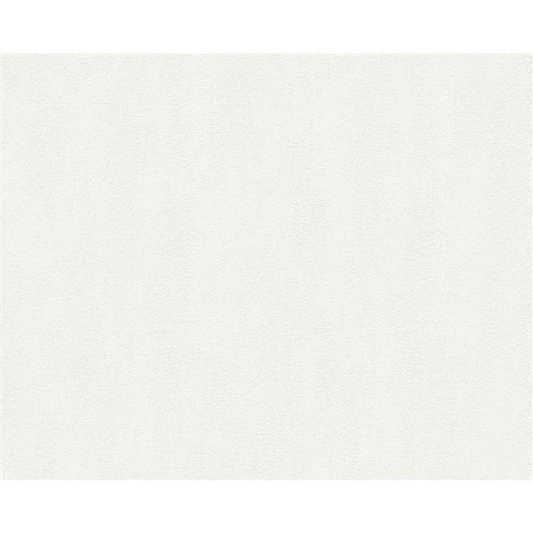 A.S. Creation Modern Decorative Wallpaper Roll - Cream White
