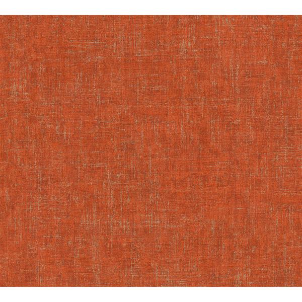 A.S. Creation Borneo Collection Wallpaper Roll - Cement Design - Red