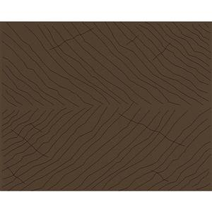 Vintage Decorative Wallpaper Roll - Brown