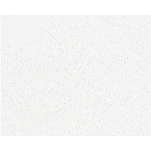 A.S. Creation Vintage Decorative Wallpaper Roll - White