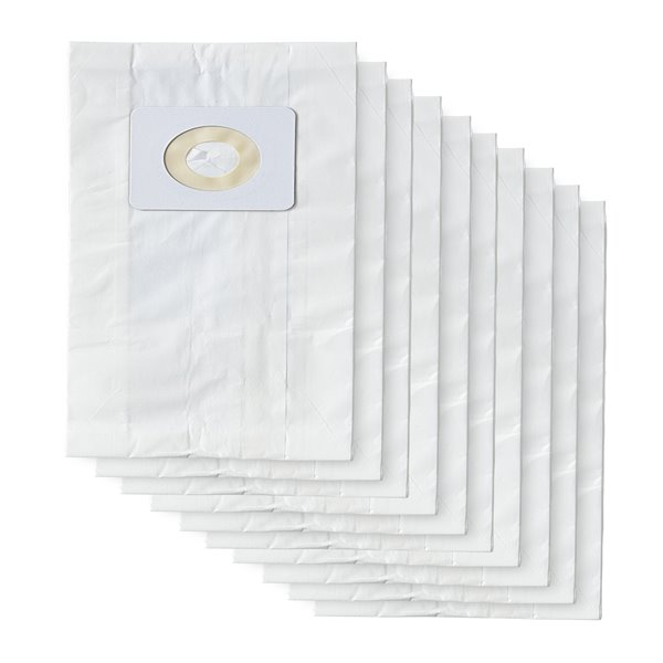 FilterPower(TM)Replacement Vacuum Bags Bissell 4 and7 -10 PK