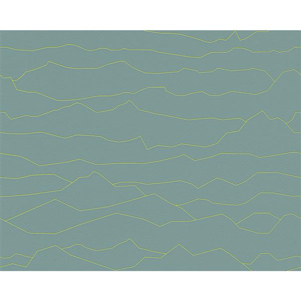 A.S. Creation Vintage Decorative Wallpaper Roll - Green