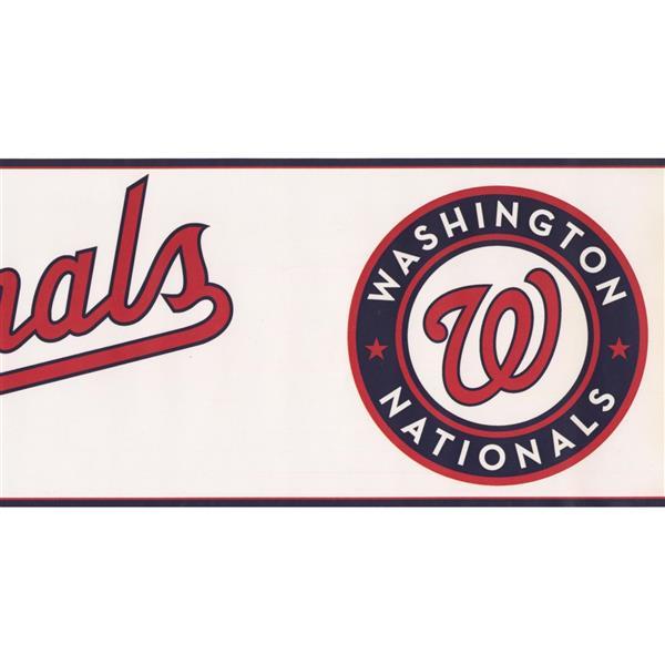 York Wallcoverings Washington Nationals MLB Baseball Wallpaper Border