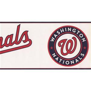 York Wallcoverings Washington Nationals MLB Baseball Wallpaper Border