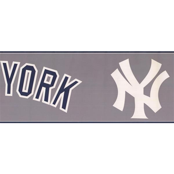 "NEW YORK YANKEES LOGO//WORDS DECAL STICKER 12/""x7/"""