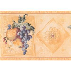 Retro Art Vintage Fruit Wallpaper Border