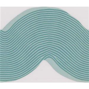 York Wallcoverings Kids Waves Wallpaper Border - Teal