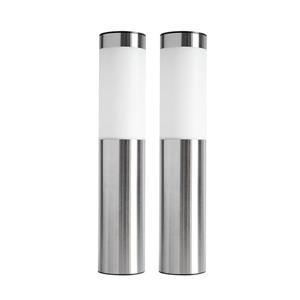 "CB Performance Advantage Self-Contained Solar LED Bollard Lights - 3""x15 3/4"" - 2-Pk"