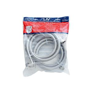 UV Hot and Cold Washing Machine Connection Kit with Elbows