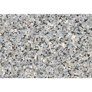 """Film autocollant, 17 """"x 78"""", gris granit"""
