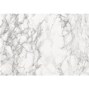 DC Fix Decorative Self Adhesive Film - 26-in x 78-in - Marble Grey