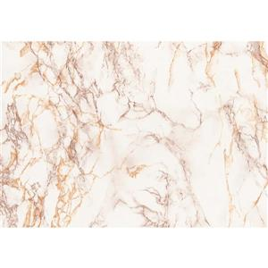 DC Fix Self Adhesive Film - 26-in x 78-in- Marble Brown