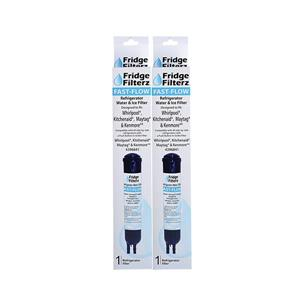 FridgeFilterz Fast Flow Refrigerator Water Filter for Whirlpool & Maytag (2 Pack)