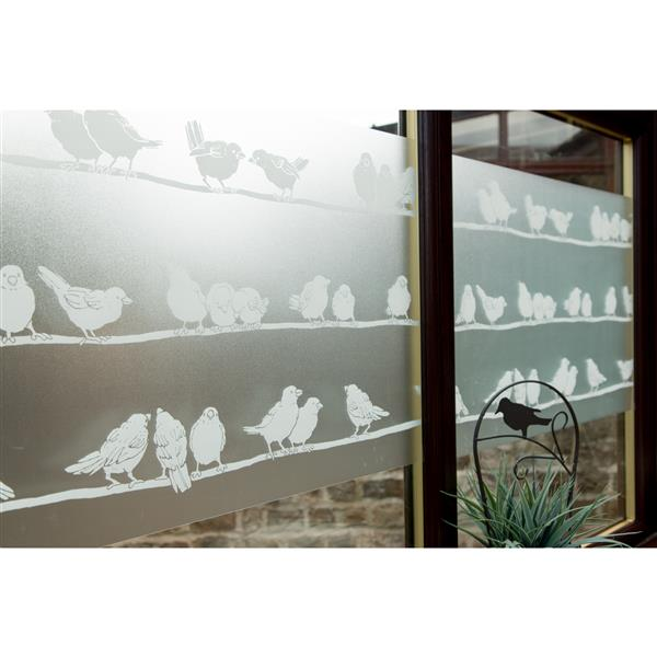 DC Fix Self Adhesive Window Film - 17-in x 59-in