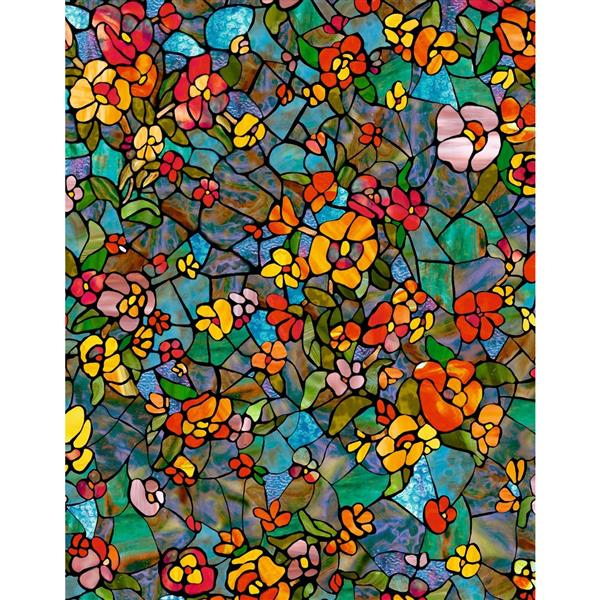 DC Fix Self Adhesive Window Film - 17-in x 78-in - Venetian Garden