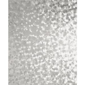 """Film autocollant pour fenêtres, 17 """"x 78"""", perle, 2 pqt"""