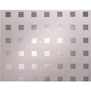 """Film autocollant pour fenêtres, 17"""" x 59"""", 2 pqt"""