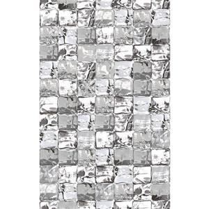 """Film autocollant pour fenêtres, 17""""x59"""", gris"""