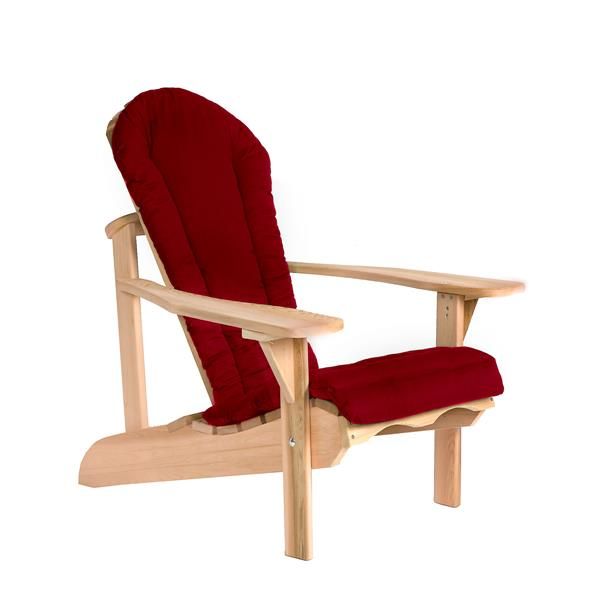 Coussin pour chaise Adirondack All Things Cedar, Rouge