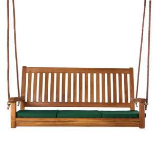 All Things Cedar Teak Swing Green Cushion - 54