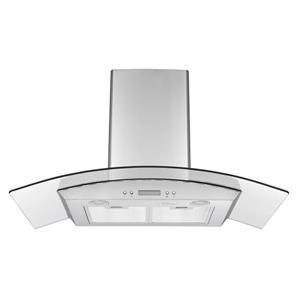 Ancona GCHD436 36 in. Convertible Glass Canopy Range Hood