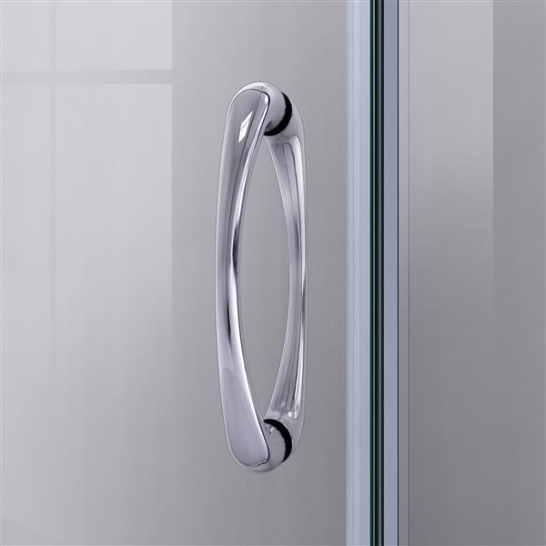 Ens. de base de douche Prime, 36 po, acrylique, blanc