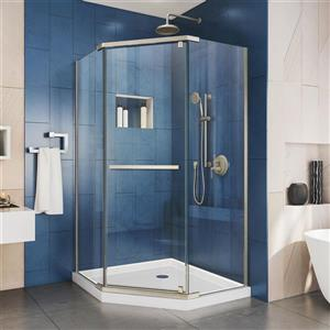 Prism Pivot Shower Door - 34.13