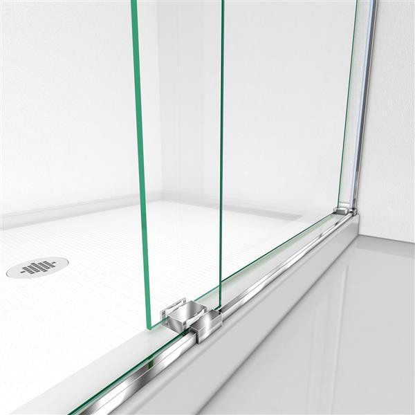 "Essence Sliding Shower Door - 60"" x 76"" - Chrome"
