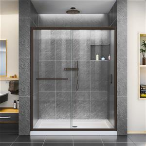 Infinity-Z Sliding Shower Door - 60