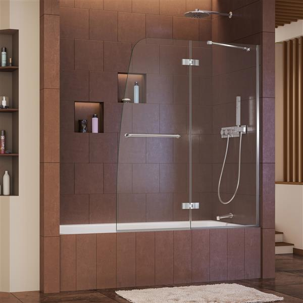 Aqua Glass Shower Door