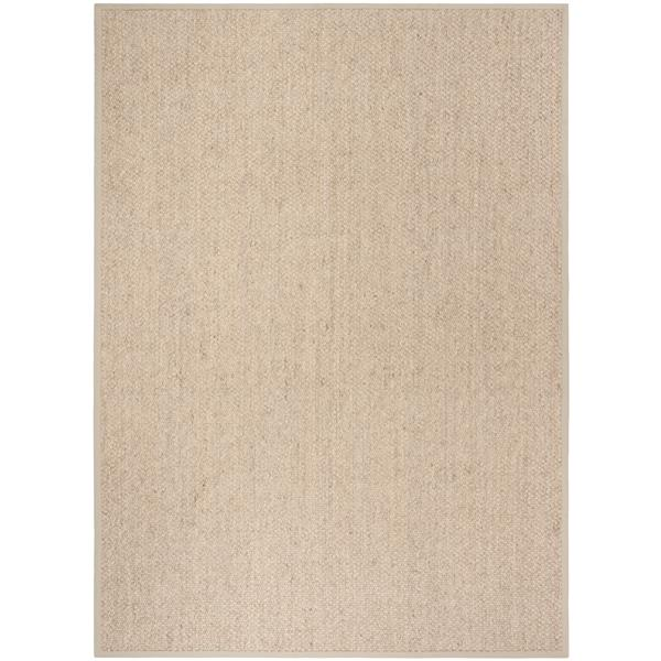 Safavieh Natural Fiber Solid Rug - 8' x 11' - Marble