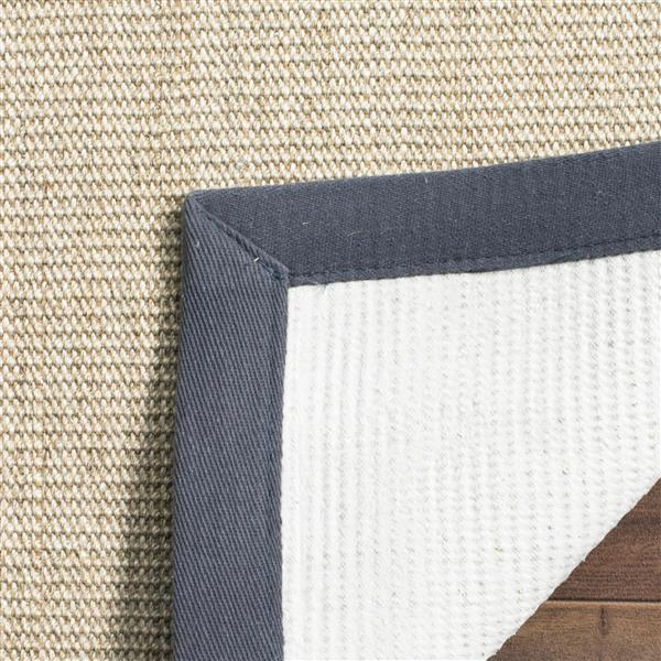 Safavieh Natural Fiber Border Rug - 3' x 5' - Marble/Gray