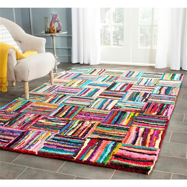 Safavieh Nantucket Abstract Rug - 4' x 4' - Multicolour