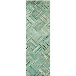 Safavieh Nantucket Abstract Rug - 2' x 5' - Green