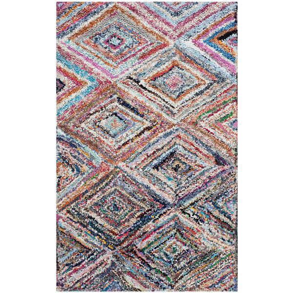 Safavieh Nantucket Geometric Rug - 3' x 5' - Multicolour