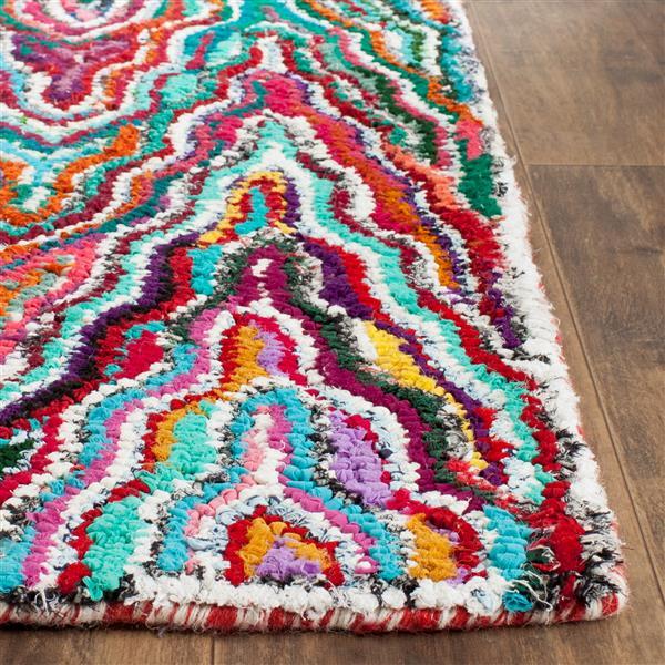 Safavieh Nantucket Abstract Rug - 4' x 4' - Multicolour