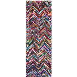 Nantucket Chevron Rug - 2' x 5' - Multicolour